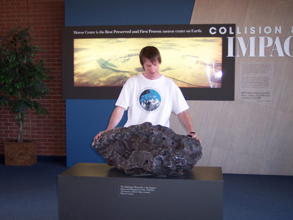 Holsinger Meteorit im Barringer Crater
