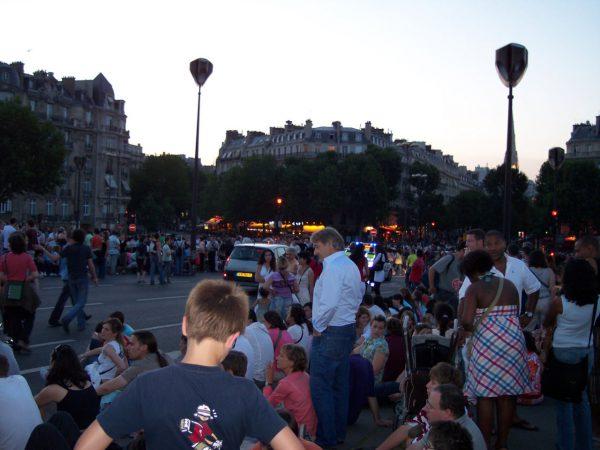Nationalfeiertag in Paris
