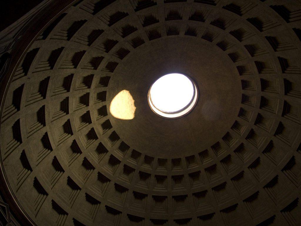 Kuppel des Pantheon mit Okulus