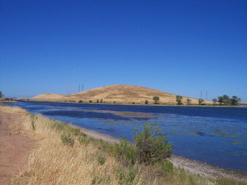 San Luis Reservoir Kalifornien
