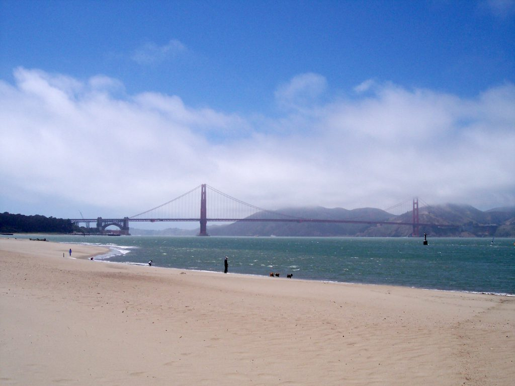 Golden Gate Bridge mit Nebel