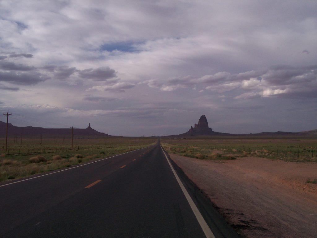"""Das """"Tor"""" zum Monument Valley"""