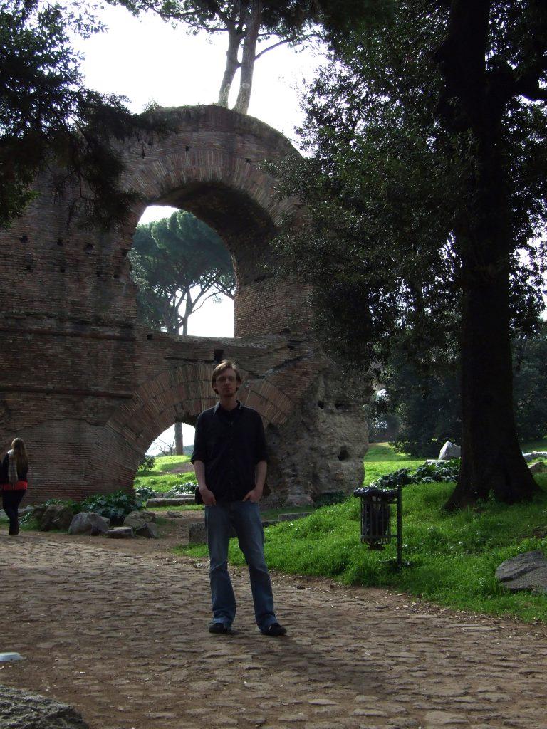 Aquädukt am Palatin