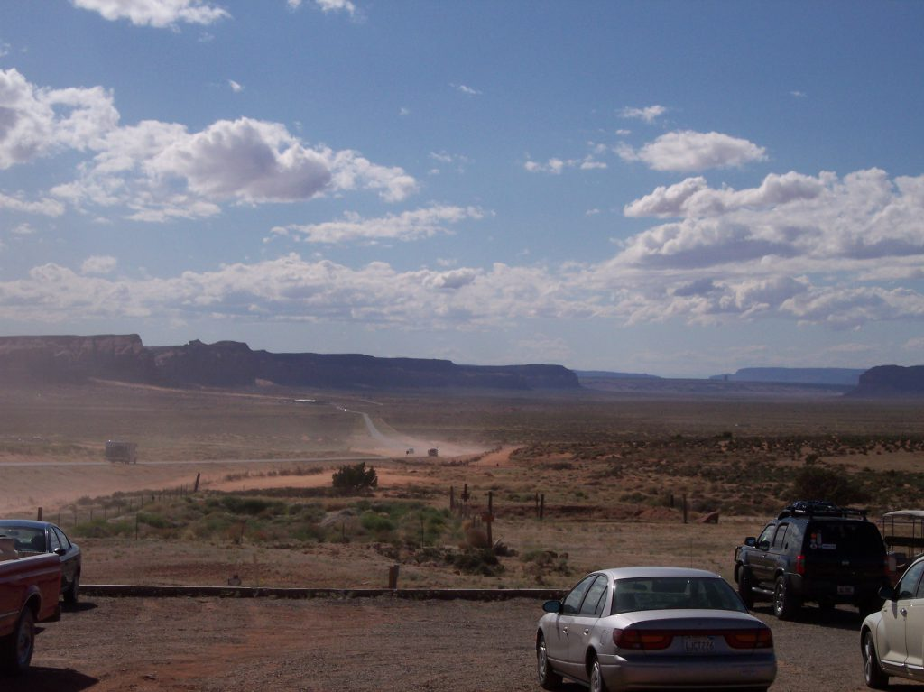 Am Monument Valley