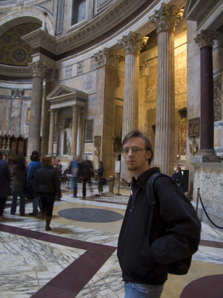 Bommel im Pantheon