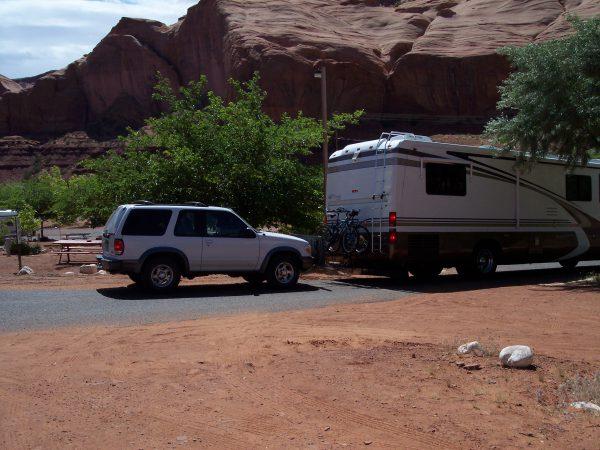 Zeltplatz am Monument Valley