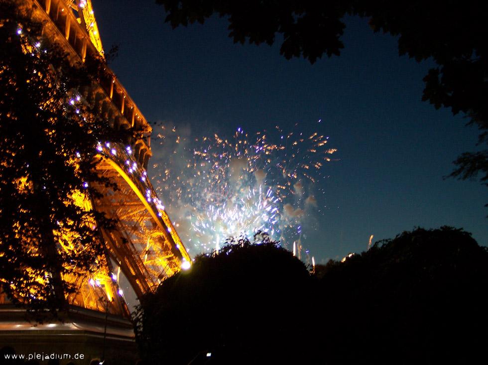 Feuerwerk Nationalfeiertag Paris