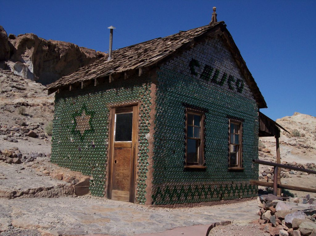 Flaschenhaus in Calico