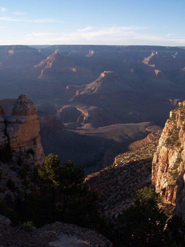 Grand Canyon im Sonnenuntergang