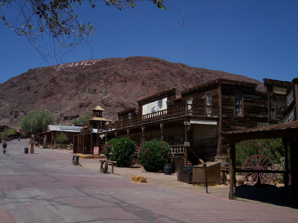 Calico Ghost Town Main Street
