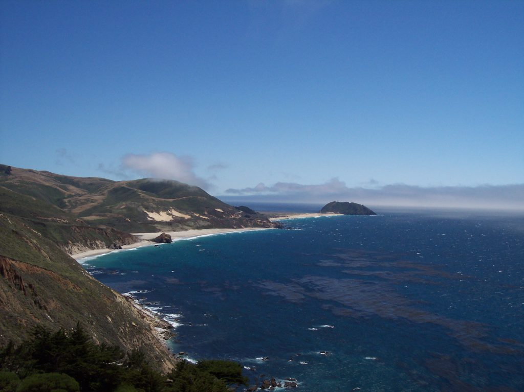 Panorama am Highway 1
