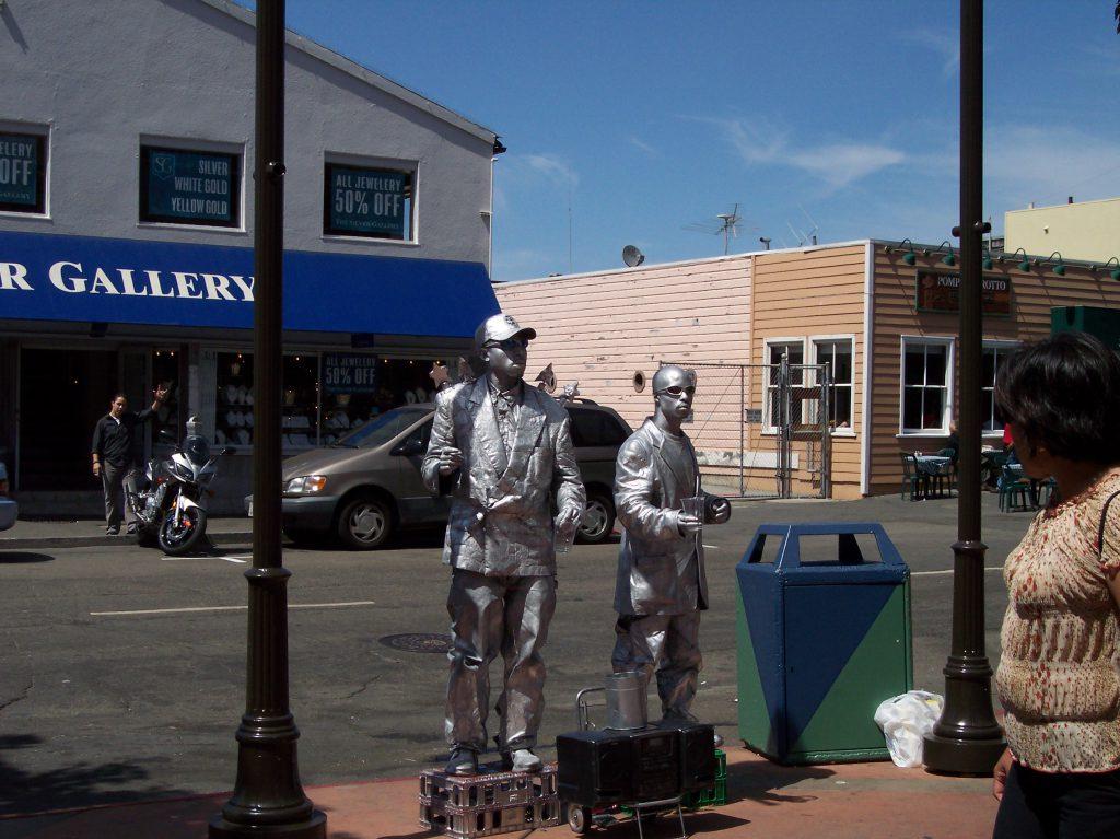 Robotertypen in San Francisco