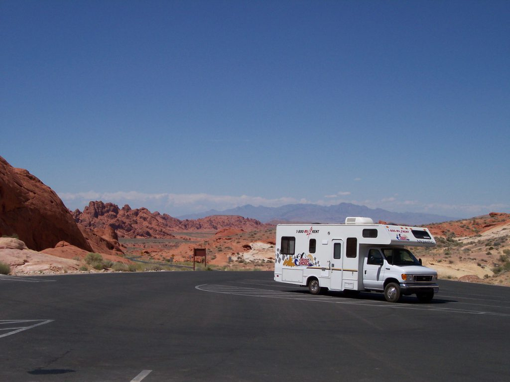 Wohnmobil, Valley of Fire