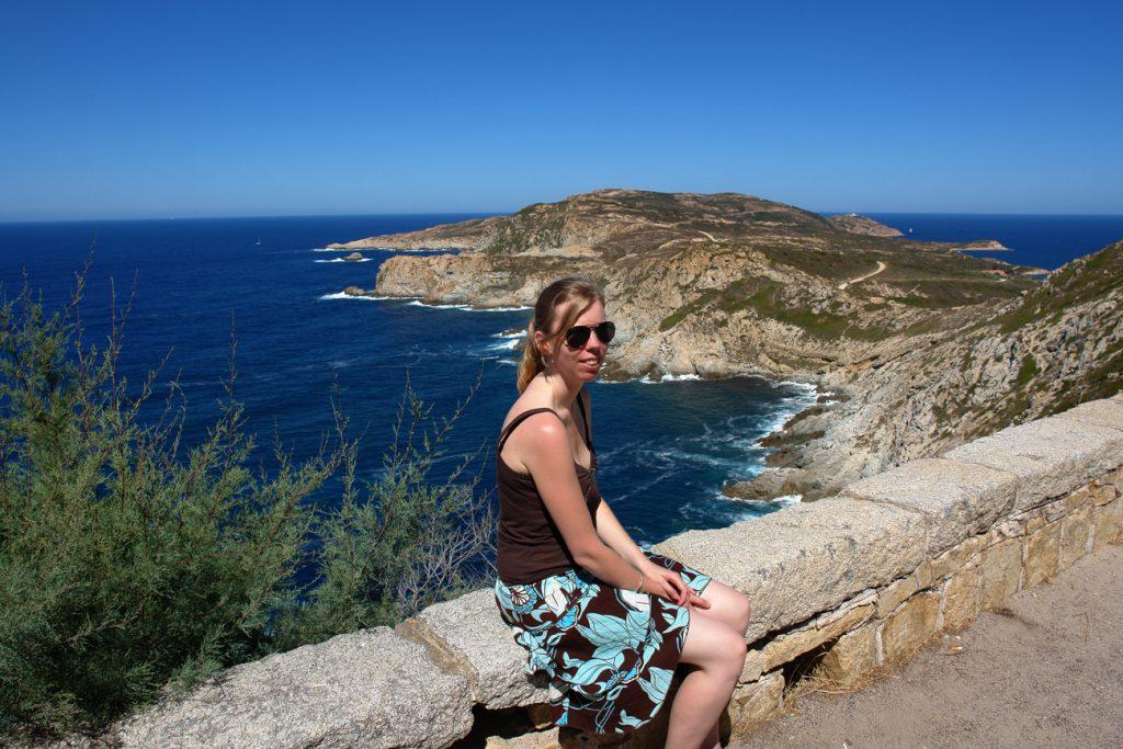 Debbie in Korsika