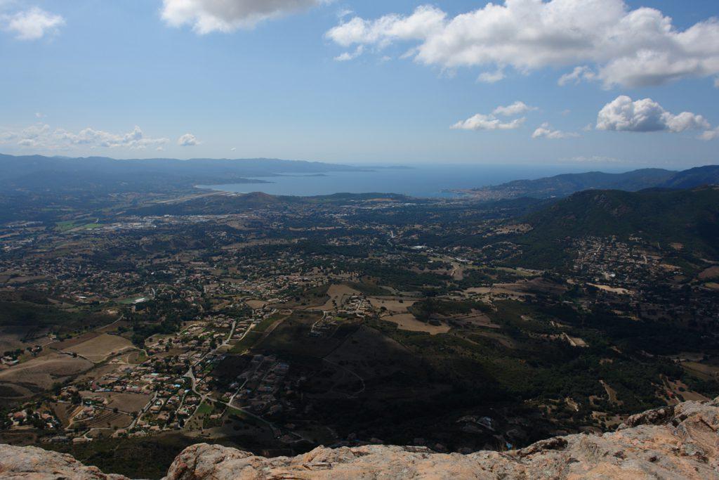 Rocher des Gozzi: Ausblick vom Gipfel