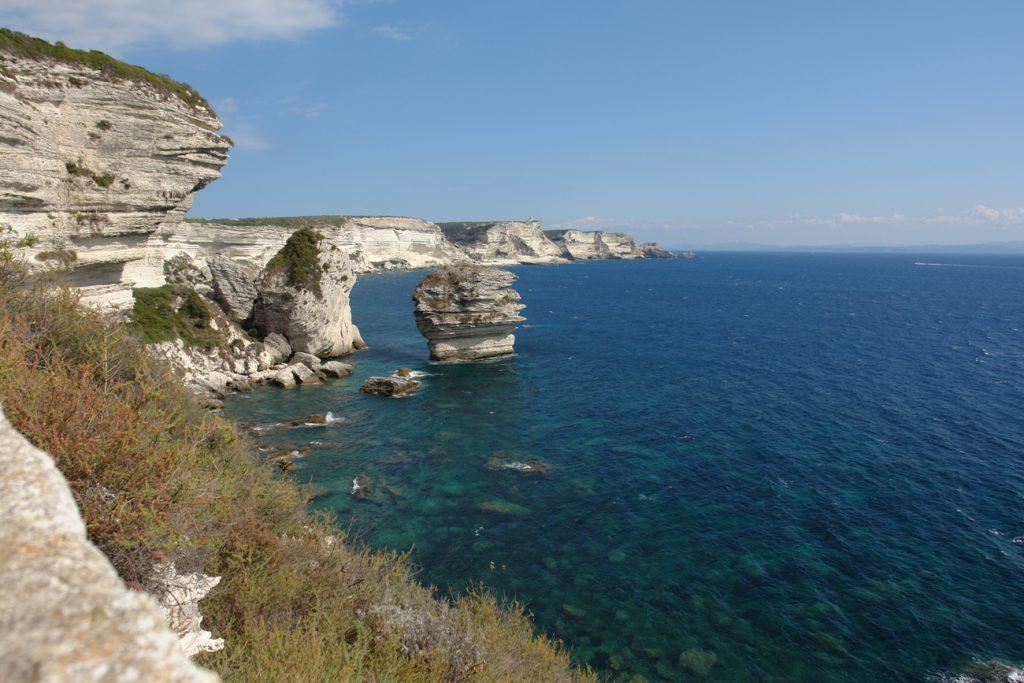 Die Südspitze von Korsika