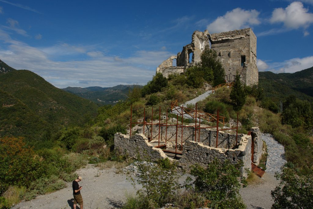 Burgruine von Zuccarello