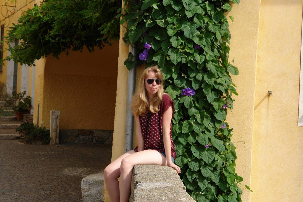 Debbie in Cervo, Italien