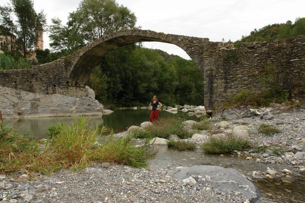 Debbie, Brücke, Borghetto d'Arrascio