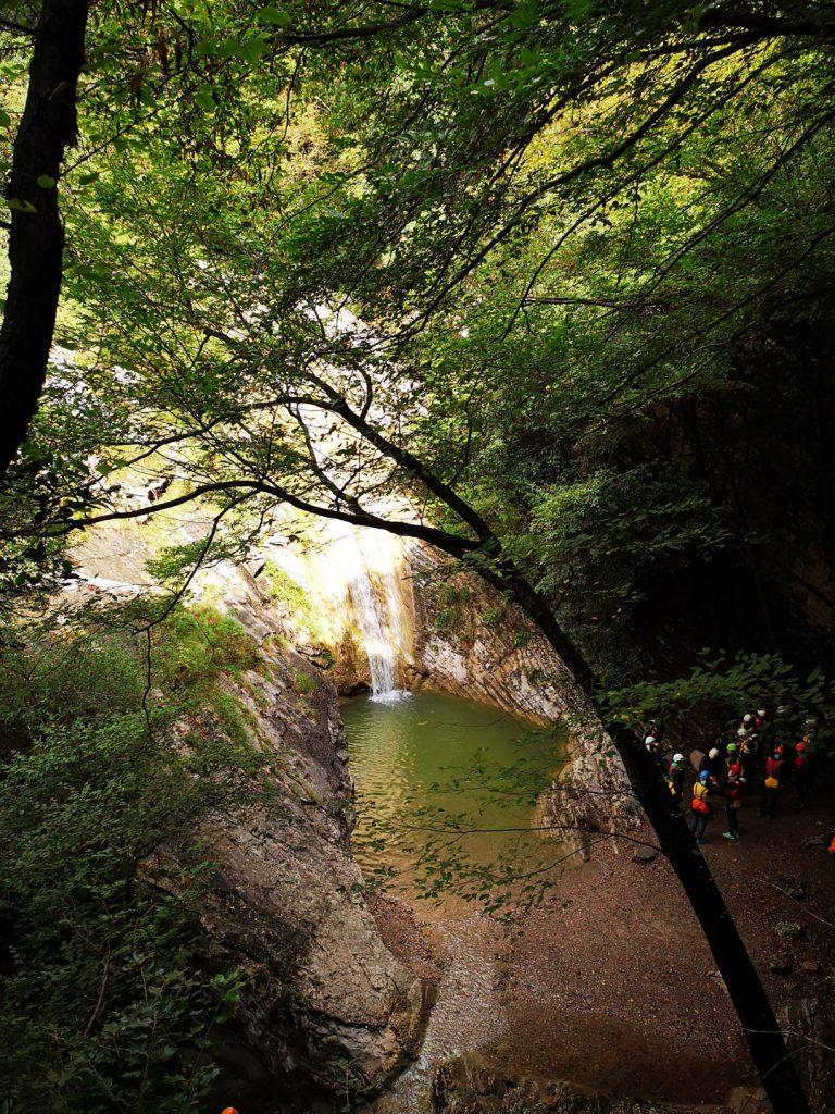 Wasserfall bei Tignale