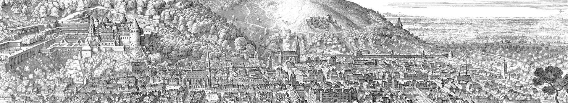 Kurzer Blick auf die Geschichte Heidelbergs
