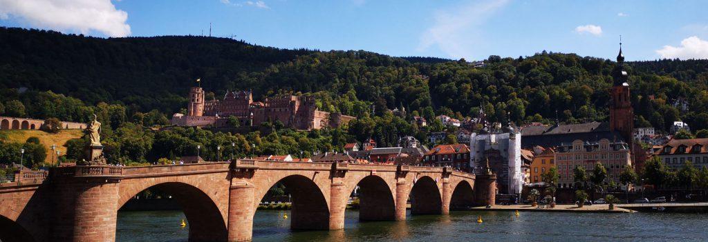Heidelberger Schloss, Alte Brücke und Heiliggeist-Kirche