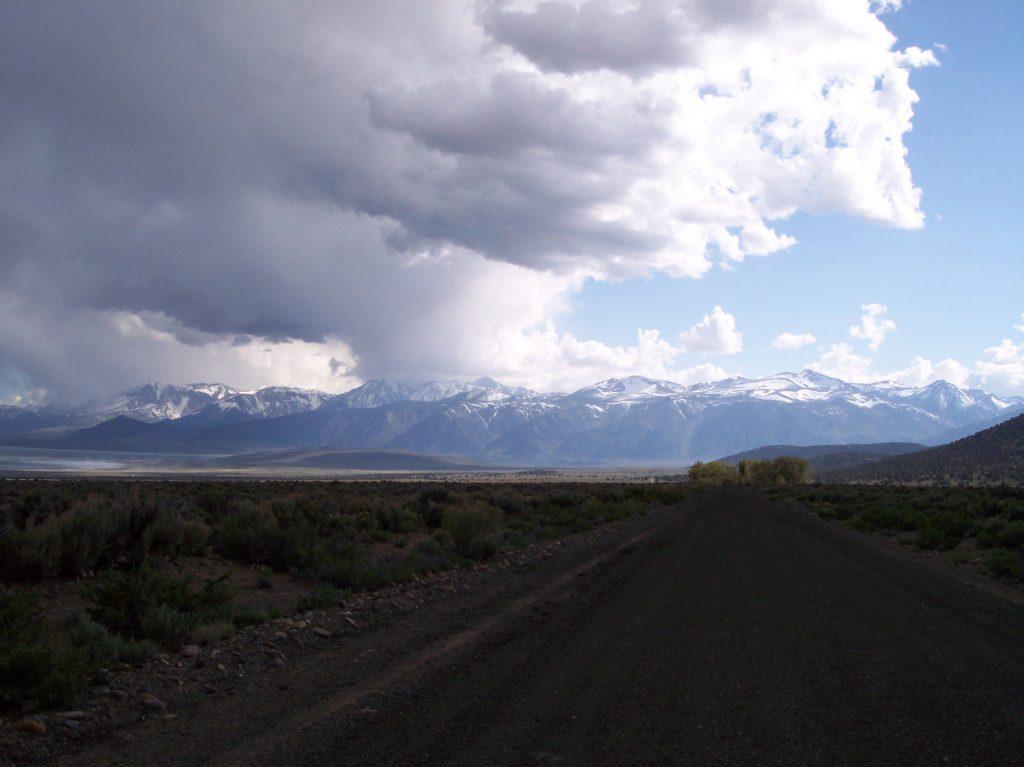 Gewitterstimmung am Mono Lake
