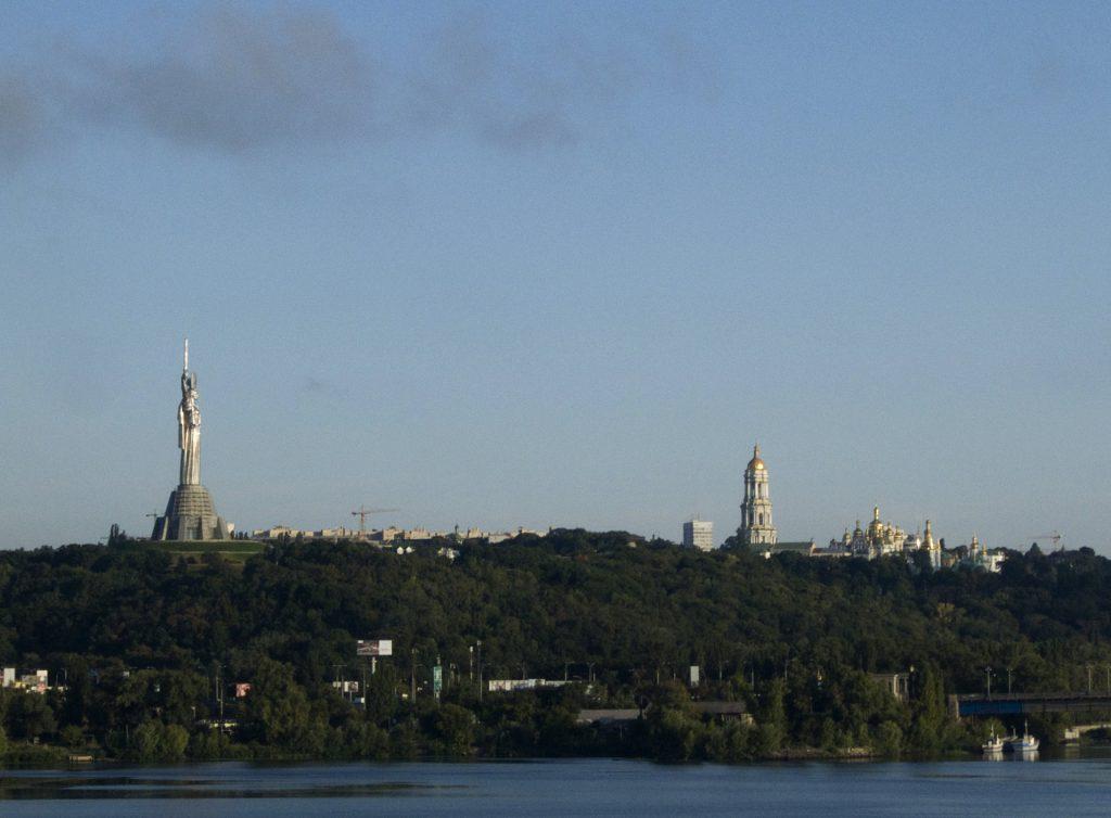 Ausblick auf Kiew