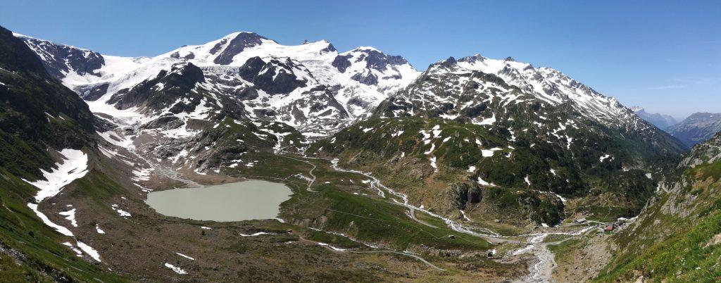 Steingletscher-Panorama