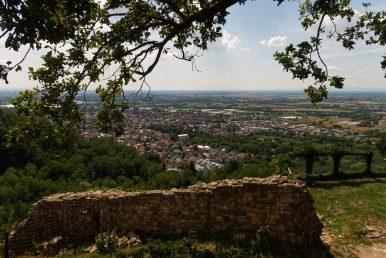 Wanderung zur Ruine von Burg Schauenburg