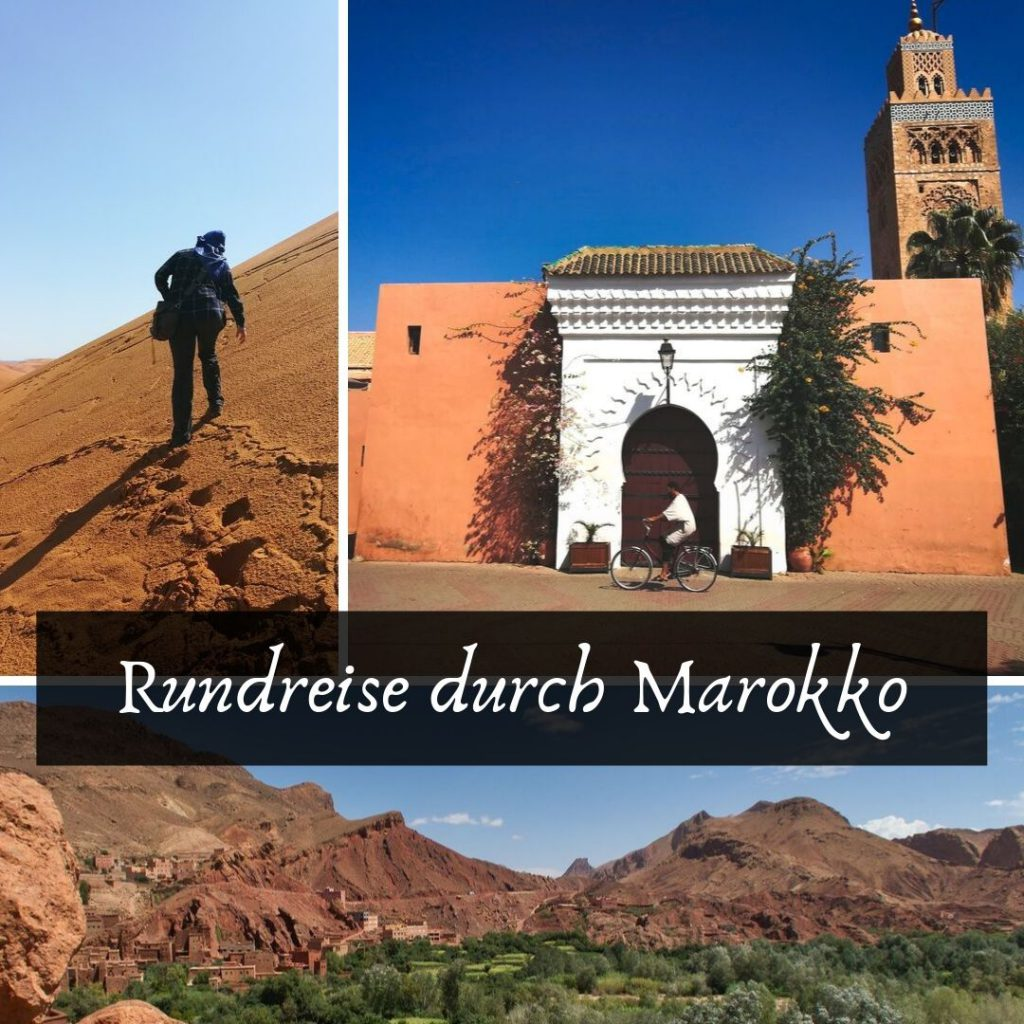 Rundreise durch Marokko
