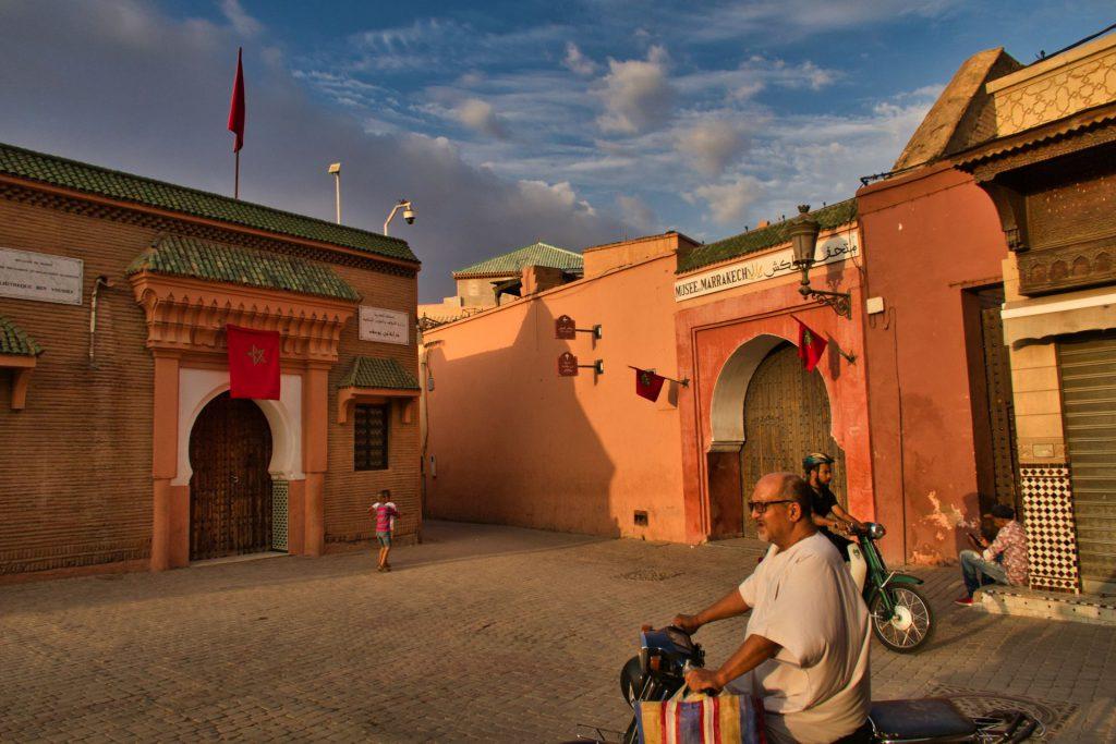 Sonnenuntergangsstimmung in Marrakesch