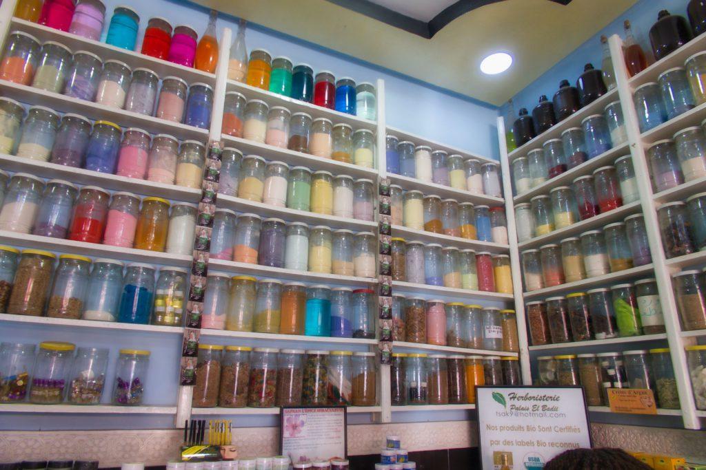 Apotheke/Gewürzladen in Marrakesch