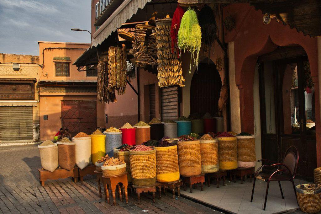 Gewürzladen in Marrakesch
