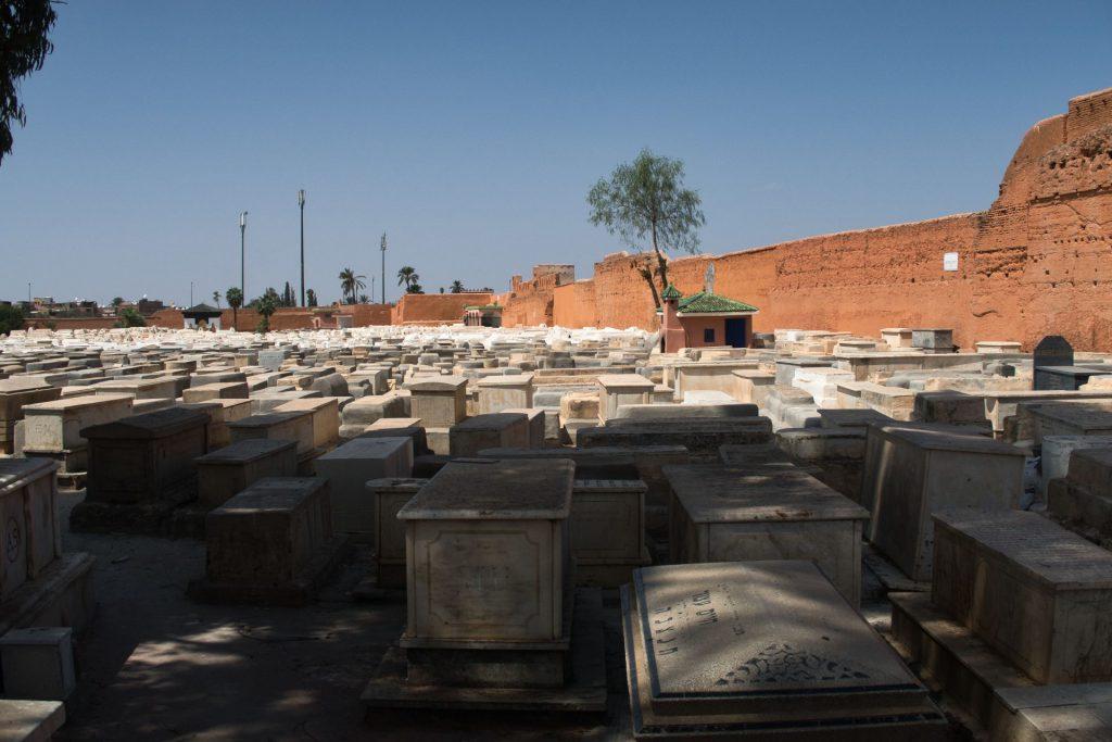 Jüdischer Friedhof in Marrakesch