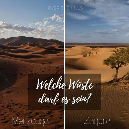 Merzouga oder Zagora