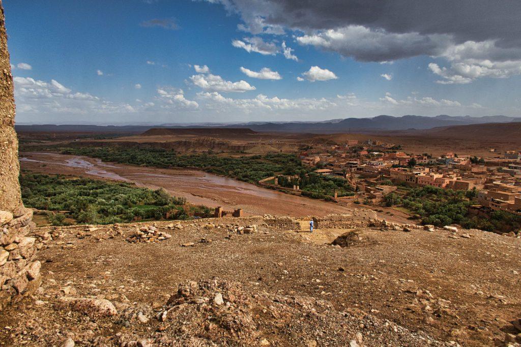 Aussicht von der Festung Ait Ben Haddou