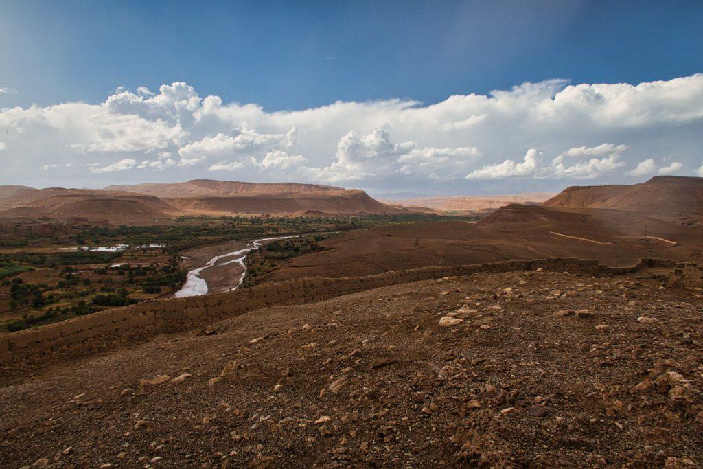 Oasen-Flusstal bei Ait Ben Haddou