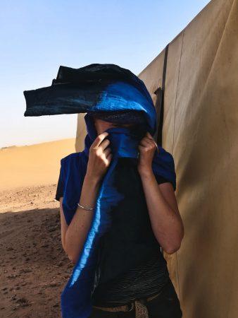Denkt an euren Berberschal, der schützt wirklich gegen Sand!