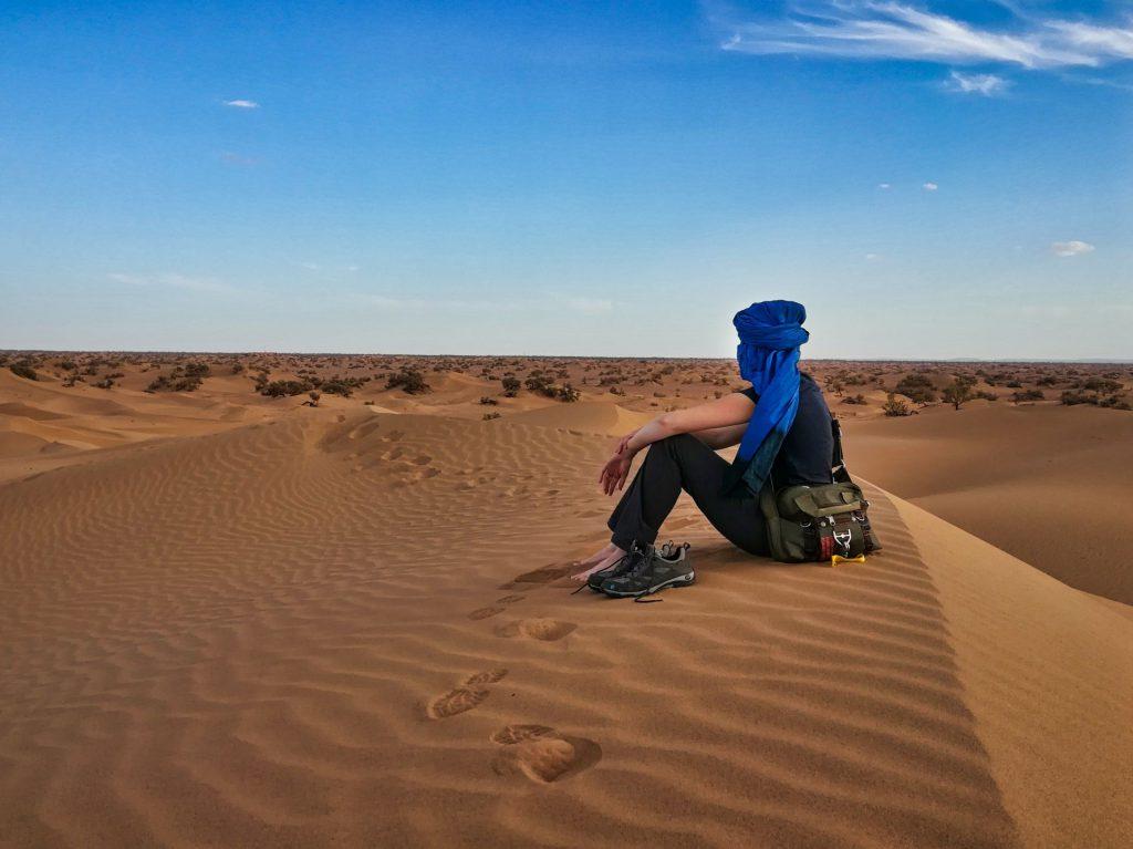 Debbie in der Wüste