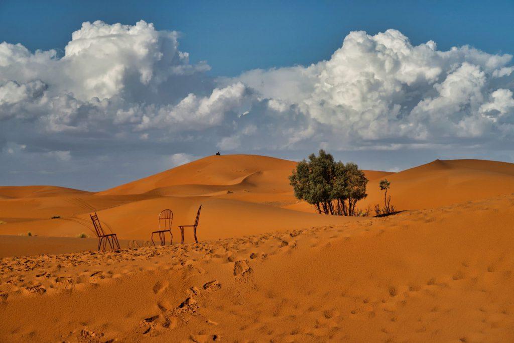 Die Dünen von Erg Chebbi sind so unglaublich wunderschön
