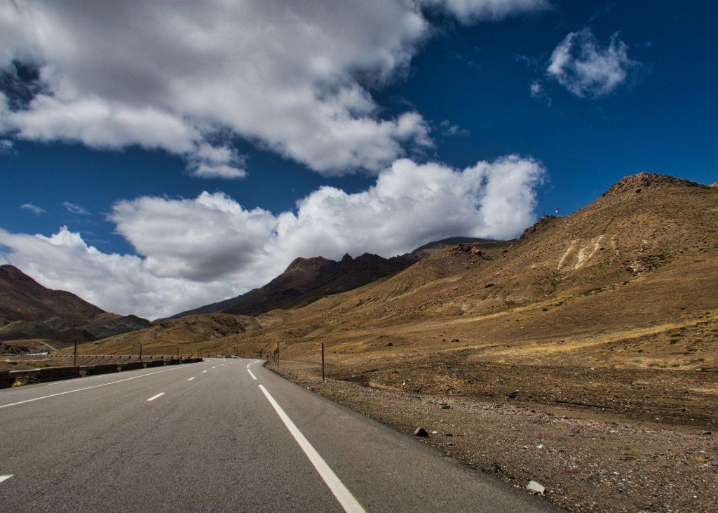 Atlasgebirge nahe des Tizi n'Tichka-Passes