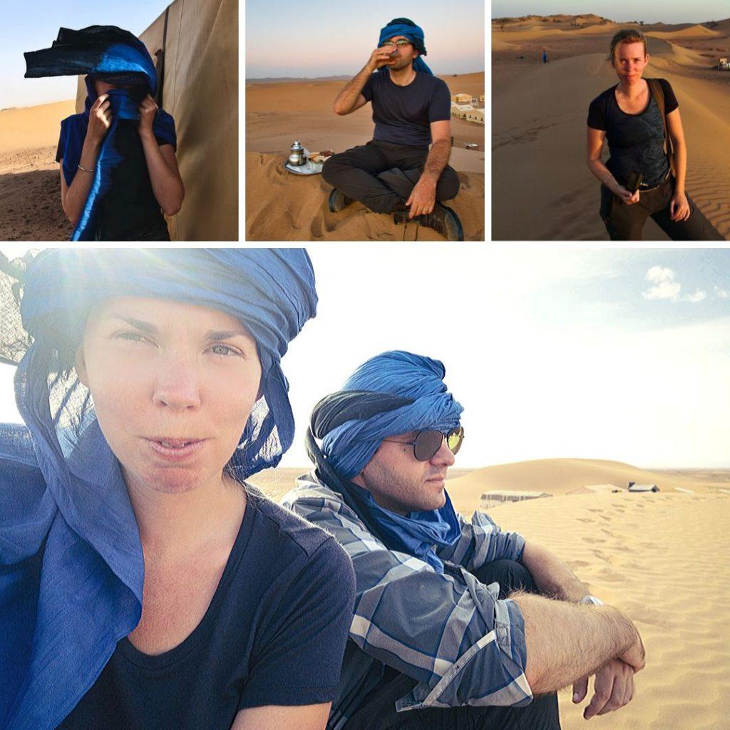 Die richtige Kleidung für die Wüste