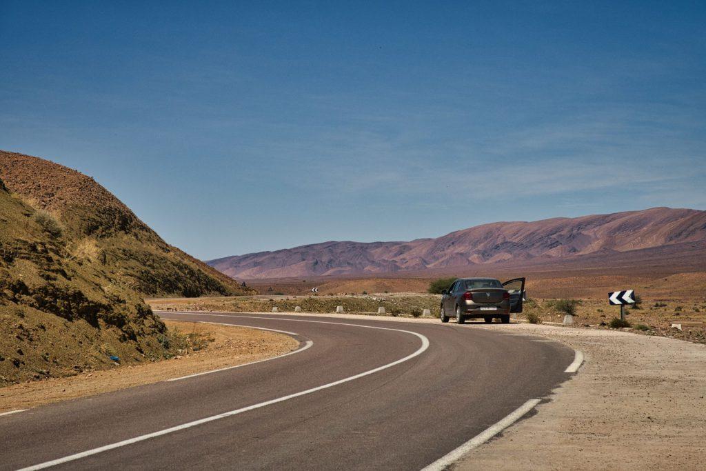 Fotopause irgendwo zwischen Wüste und Atlas