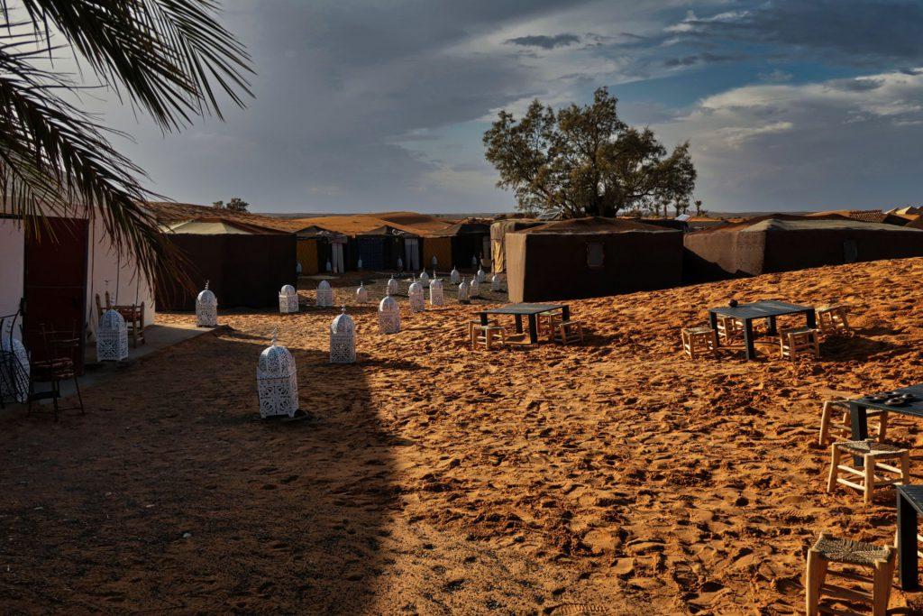 Unser Wüstencamp bei Merzouga