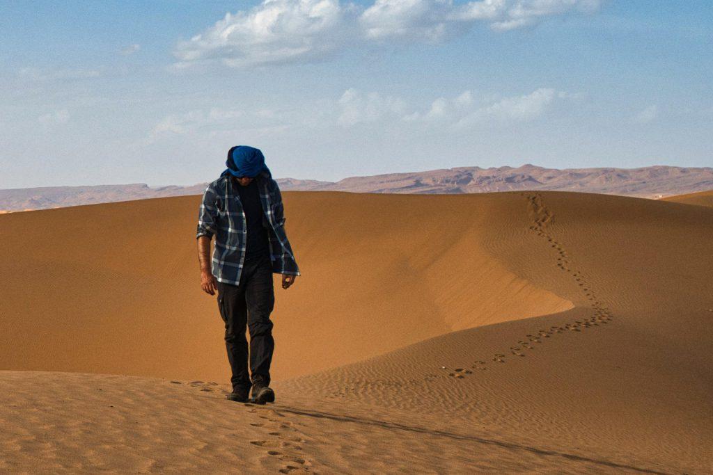 Die richtige Kleidung in der Wüste