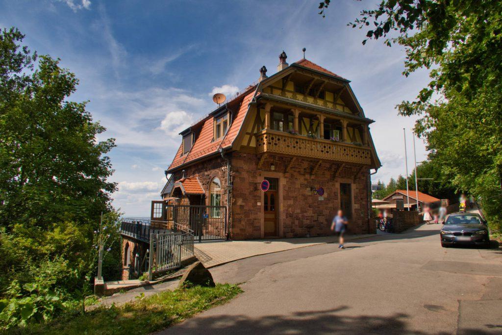 Bergstation auf dem Heidelberger Königstuhl