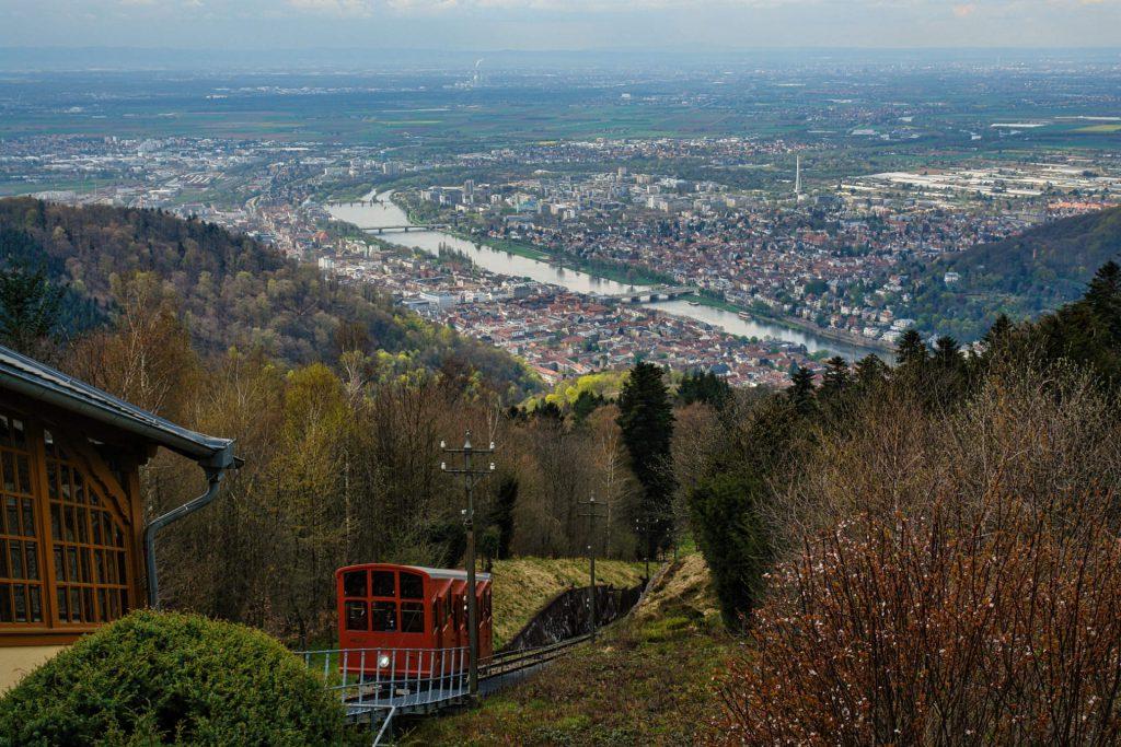 Historische Bergbahn Heidelberg
